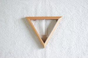 三角フレーム一輪挿し(小)ナチュラル