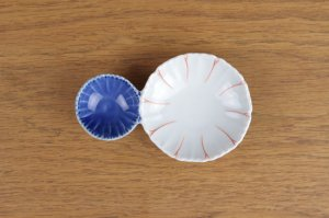 花型二種皿 二色