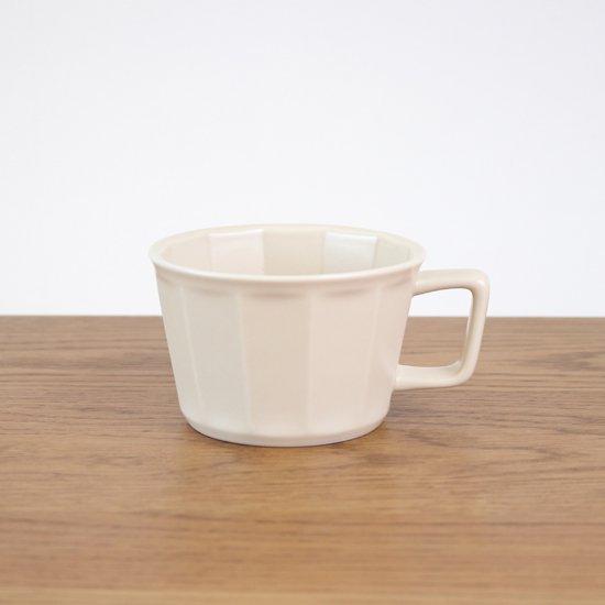 面取スープカップ(アイボリー)