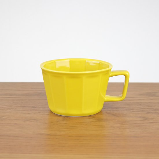 面取スープカップ(イエロー)