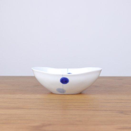楕円ボウル(小)青玉