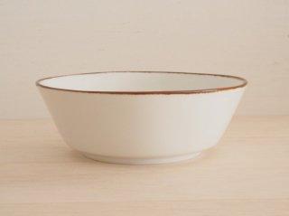 反小鉢 ふち錆ホワイトマット