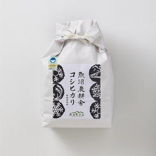 新米予約受付中 令和3年産 魚沼産コシヒカリ 特別栽培米 精米 3kg×1袋