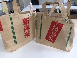 農副連携のコラボ商品!新潟(マイ)バック