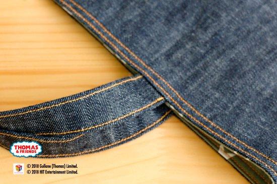 THOMAS&FRIENDS(きかんしゃトーマス) 名入れができるデニムレッスンバッグ(Pocket) 商品画像