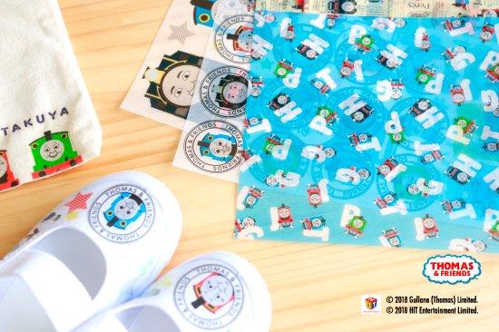 kikka for mother(キッカフォーマザー) |THOMAS&FRIENDS(きかんしゃトーマス) デコパージュ用ペーパー 商品画像