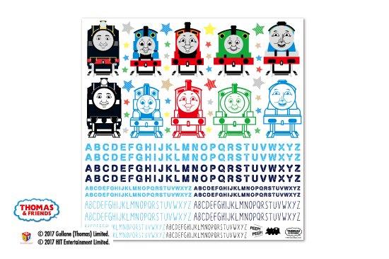 THOMAS&FRIENDS(きかんしゃトーマス) デコパージュ用ペーパー 商品画像