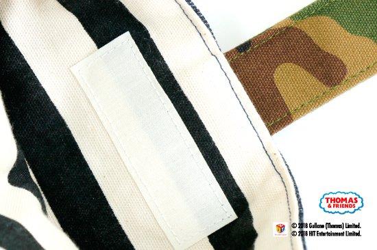 THOMAS&FRIENDS(きかんしゃトーマス) 名入れができるデニムシューズバッグ(Camouflage) 商品画像