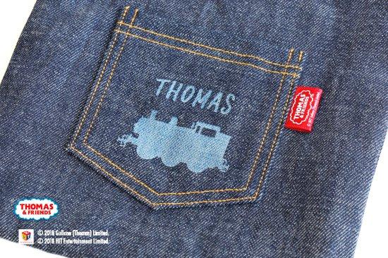 THOMAS&FRIENDS(きかんしゃトーマス) 名入れができるデニムシューズバッグ(Pocket) 商品画像