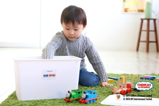kikka for mother(キッカフォーマザー) |THOMAS&FRIENDS(きかんしゃトーマス)おもちゃのお片付けステッカー 商品画像