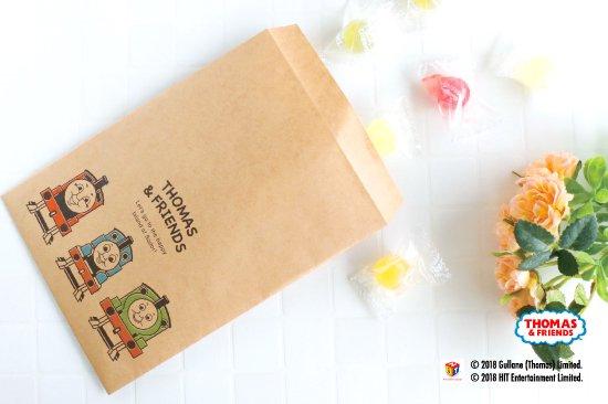 kikka for mother(キッカフォーマザー) |THOMAS&FRIENDS(きかんしゃトーマス) ペーパーバッグ 平袋【ポップ】 商品画像