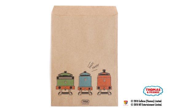 THOMAS&FRIENDS(きかんしゃトーマス) ペーパーバッグ 平袋【ポップ】 商品画像