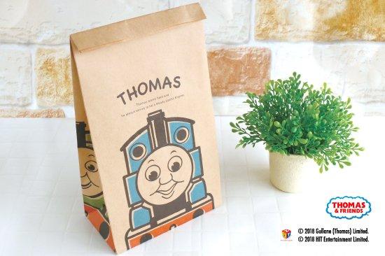 kikka for mother(キッカフォーマザー) |THOMAS&FRIENDS(きかんしゃトーマス) ペーパーバッグ 角底袋【ポップ】 商品画像