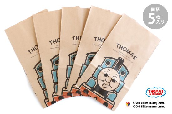 THOMAS&FRIENDS(きかんしゃトーマス) ペーパーバッグ 角底袋【ポップ】 商品画像
