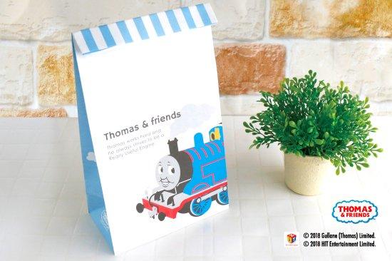 kikka for mother(キッカフォーマザー) |THOMAS&FRIENDS(きかんしゃトーマス) ペーパーバッグ 角底袋【クラシカル】 商品画像