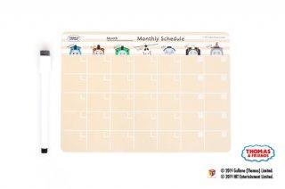 THOMAS&FRIENDS(きかんしゃトーマス) マグネットシート【Monthly Schedule】