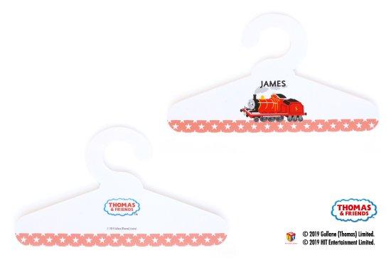 THOMAS&FRIENDS(きかんしゃトーマス) スチレンハンガー【ホワイト】 商品画像