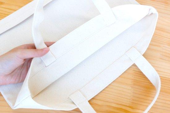 Penelope tete en l'air(ペネロペテタンレール) 名入れができる倉敷の帆布レッスンバッグ【フェイス】 商品画像