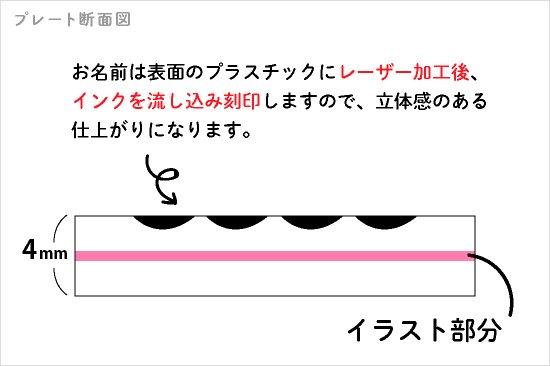 Stylish! 名入れができるキーホルダー ビションフリーゼ(タータンチェック) 商品画像