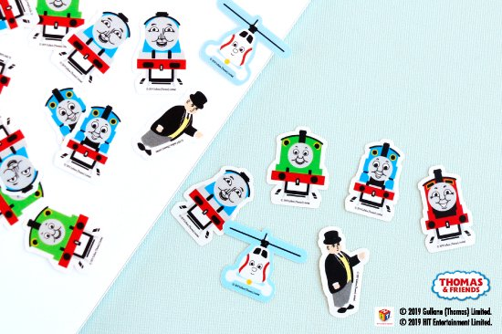 <img class='new_mark_img1' src='https://img.shop-pro.jp/img/new/icons14.gif' style='border:none;display:inline;margin:0px;padding:0px;width:auto;' />THOMAS&FRIENDS(きかんしゃトーマス) フレークシール 商品画像