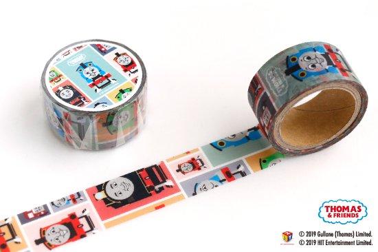 kikka for mother(キッカフォーマザー) |THOMAS&FRIENDS(きかんしゃトーマス) マスキングテープ【スクエア】 商品画像
