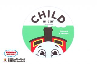 THOMAS&FRIENDS(きかんしゃトーマス) カーマグネット・CHILD IN CAR(ビッグジェームス)