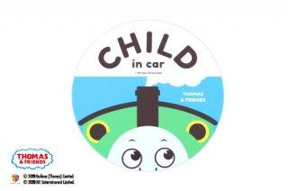 THOMAS&FRIENDS(きかんしゃトーマス) カーマグネット・CHILD IN CAR(ビッグパーシー)