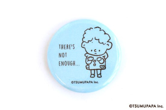 kikka for mother(キッカフォーマザー) |TSUMUPAPA(つむぱぱ) 缶バッジS(ICEBLUE) 商品画像