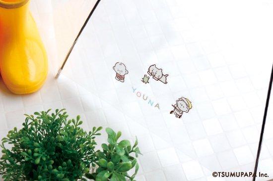 TSUMUPAPA(つむぱぱ)クリアデコステッカー 商品画像