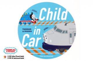THOMAS&FRIENDS(きかんしゃトーマス) カーマグネット CHILD IN CAR(ケンジ)