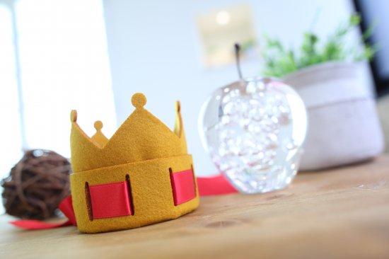 どうぶつ王国の誕生日会【yellow crown】 商品画像