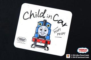 THOMAS&FRIENDS(きかんしゃトーマス) カーマグネット・CHILD IN CAR