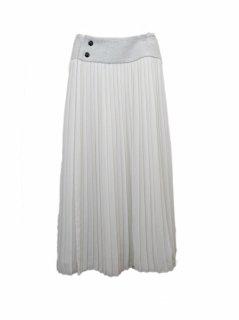 muller of yoshiokubo ラッププリーツスカート