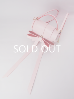 niels peeraer ニールス ペラール RIBBON BACKPACK Msize (pink)