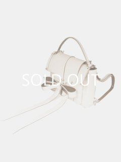 niels peeraer ニールス ペラール RIBBON BACKPACK Lsize (nude)