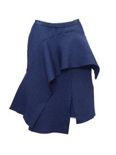 AKIRA NAKA アキラナカ Bella drape skirt ドレープニットスカート
