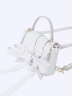 niels peeraer ニールス ペラール RIBBON BACKPACK S size (white)