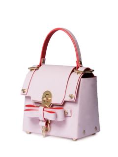 niels peeraer ニールス ペラール BOW BUCKLE 3PM BAG-M (pink)