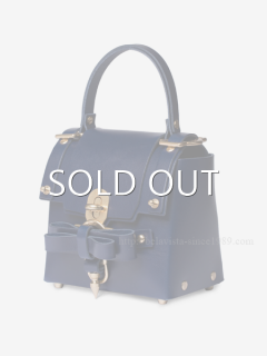 niels peeraer ニールス ペラール BOW BUCKLE 3PM BAG-M (evening blue)