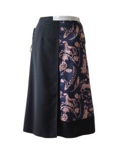AKIRA NAKA アキラナカ Borjomi レースアップスカート(NVPK )★sale