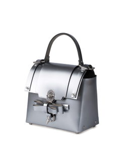 niels peeraer ニールス ペラール BOW BUCKLE 3PM BAG-M (silver)
