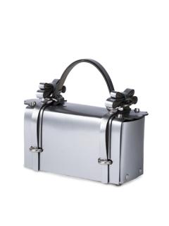niels peeraer ニールス  ペラール WINGED BAG (silver)