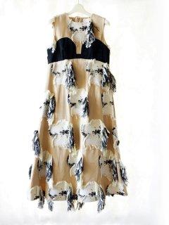 AKIRA NAKA アキラナカ Kamila dress(BG)★