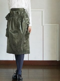 AKIRA NAKA アキラナカ Zuzaフリルスカート ★sale 30%OFF