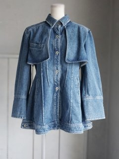 AKIRA NAKA アキラナカ  denim flap jacket