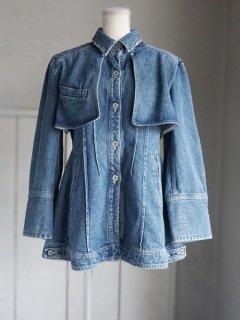AKIRA NAKA アキラナカ  denim flap jacket ★sale