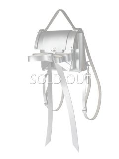 niels peeraer ニールス ペラール RIBBON BACKPACK Msize(silver)