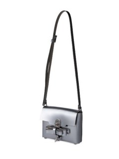 niels peeraer ニールス ペラール BOW BUCKLE SINGLE LAYER BAG (silver)