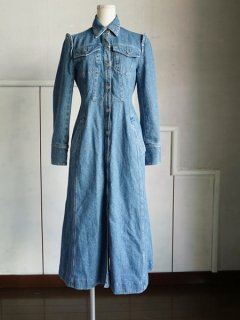 AKIRA NAKA アキラナカ Denim dress ★sale
