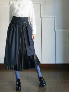AKIKOAOKI  WRAPPED SKIRT